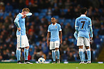 Kevin De Bruyne of Manchester City dejected following their second goal - Manchester City vs Monchengladbach - UEFA Champions League - Etihad Stadium - Manchester - 08/12/2015 Pic Philip Oldham/SportImage