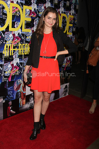 LOS ANGELES - SEPTEMBER 23: Emily Robinson at the KODE Magazine October 2015 Issue Party at the The Well on September 23, 2015 in Los Angeles, CA . Credit: David Edwards/MediaPunch