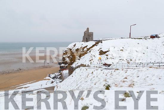 The snow in Ballybunnion on Friday.