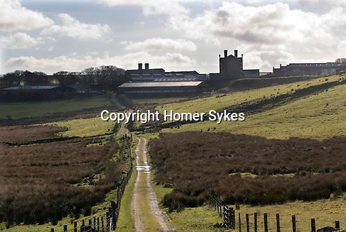 Dartmoor Prison Princetown Devon Uk.
