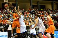GRONINGEN - Basketbal, Nederland - Italie, WK kwalificatie 2019, Martiniplaza, 01-07-2018 score van Shane Hammink