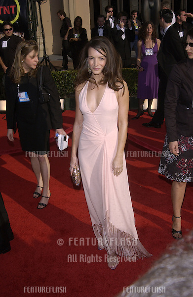 KRISTIN DAVIS at the 9th Annual SCREEN ACTORS GUILD AWARDS in Los Angeles..March 9, 2003.