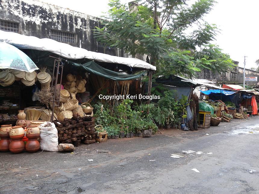 The main street market, Asuncion, Paraguay