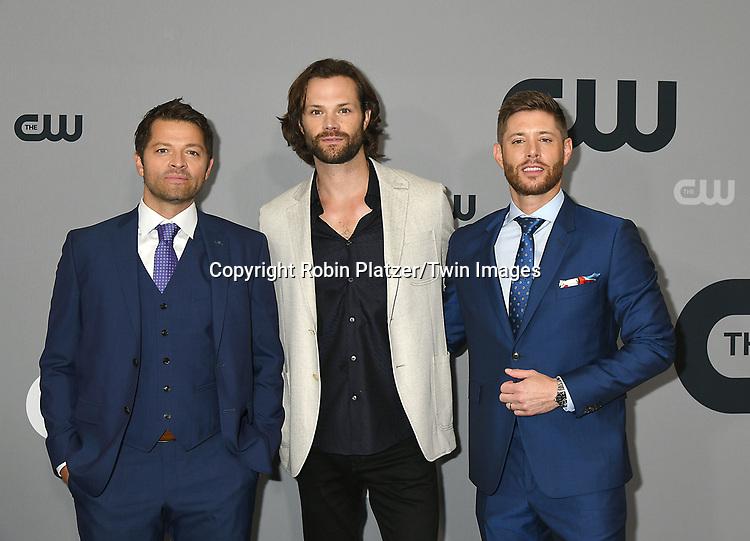 Misha CollinsJared Padalecki Jensen Ackles Of Supernatural Attend The CW Upfront