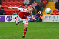 Fleetwood Town's Paddy Madden in action<br /> <br /> Photographer Richard Martin-Roberts/CameraSport<br /> <br /> The EFL Sky Bet League One - Fleetwood Town v Plymouth Argyle - Saturday 16th March 2019 - Highbury Stadium - Fleetwood<br /> <br /> World Copyright © 2019 CameraSport. All rights reserved. 43 Linden Ave. Countesthorpe. Leicester. England. LE8 5PG - Tel: +44 (0) 116 277 4147 - admin@camerasport.com - www.camerasport.com