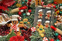 Christmas wreath with baking theme. Providence Festival of Trees. Portland. Oregon
