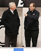 Jerry York (BC - Head Coach), Tony Penna - The Providence College Friars tied the visiting Boston College Eagles 3-3 on Friday, December 7, 2012, at Schneider Arena in Providence, Rhode Island.