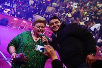 Paquita la del Barrio durante su concierto en el palenque de la Feria de Leon 2014 , Guanajuato el 15 de Enero del 2014..<br /> (*Foto:TiradorTercero/NortePhoto*)