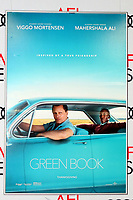 """LOS ANGELES - NOV 9:  Green Book Poster at the AFI FEST 2018 - """"Green Book"""" at the TCL Chinese Theater IMAX on November 9, 2018 in Los Angeles, CA"""
