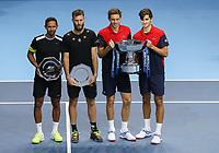 17th November 2019; O2 Arena, London, England; Nitto ATP Tennis Finals; - Editorial Use