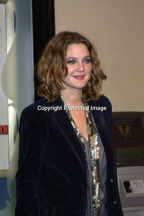 """©2002 KATHY HUTCHINS / HUTCHINS PHOTO.""""CONFESSIONS OF A DANGEROUS MIND"""" PREMIREE.WESTWOOD, CA.DECEMBER 11, 2002..DREW BARRYMORE."""