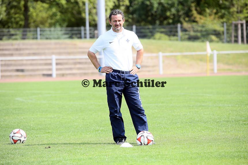 Trainer Dirk Schuster (SV98)