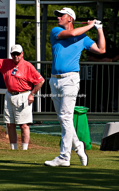 Robert Karlsson at St. Jude Classic in Memphis.