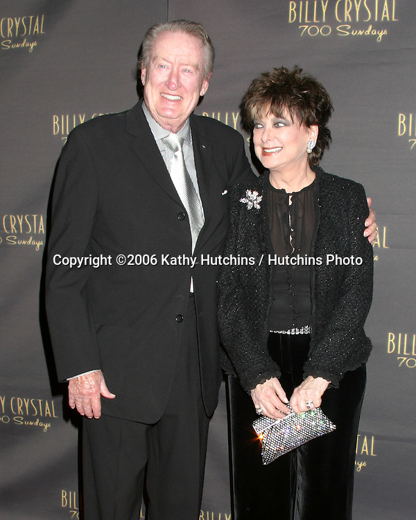 Tom Poston.Suzanne Pleshette.Wilshire Theater.700 Sundays LA Play Opening.Los Angeles, CA.January 12, 2006.©2006 Kathy Hutchins / Hutchins Photo....