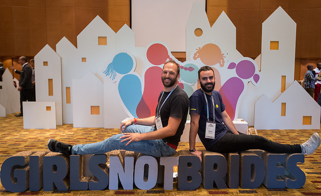 27 June, 2018, Kuala Lumpur, Malaysia : The third day at the Girls Not Brides Global Meeting 2018 at the Kuala Lumpur Convention Centre. Picture by Graham Crouch/Girls Not Brides