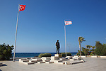 Girne Harbor Statue of Atatürk