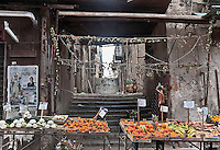 Palermo, historic market &quot;Capo&quot;.<br /> Palermo, mercato storico del Capo