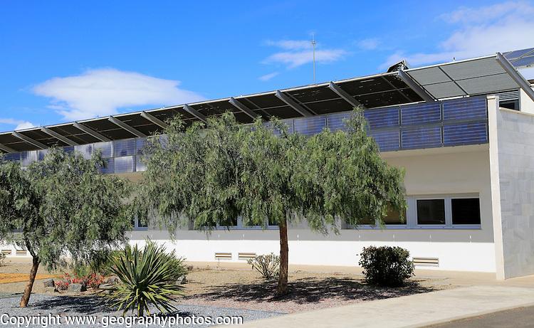 Energy efficient CIEMAT building research, Solar energy research establishment, Tabernas, Almeria, Spain