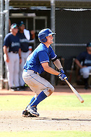 Kevin David - Kansas City Royals - 2010 Instructional League.Photo by:  Bill Mitchell/Four Seam Images..