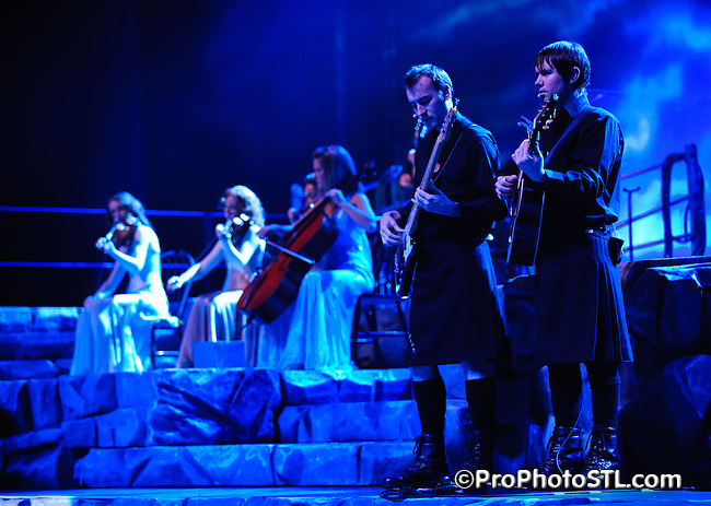 Celtic Thunder group performing at Fabulous Fox Theater in Saint Louis, Mo on Oct 17, 2008.