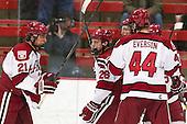 Marshall Everson (Harvard - 21), Luke Greiner (Harvard - 26), Danny Fick (Harvard - 7) - The Harvard University Crimson defeated the visiting Rensselaer Polytechnic Institute Engineers 4-0 (EN) on Saturday, November 10, 2012, at Bright Hockey Center in Boston, Massachusetts.