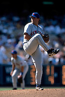 Al Leiter of the New York Mets participates in a Major League Baseball game at Dodger Stadium during the 1998 season in Los Angeles, California. (Larry Goren/Four Seam Images)