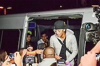RIO DE JANEIRO, RJ, 09 JULHO 2012 - APRESENTACAO SELECAO OLIMPICA - O jogador Neymar em dia de apresentação dos jogadores da Seleção Brasileira Olímpica, no Hotel Sheraton Rio, no Rio de Janeiro, nesta segunda-feira. (FOTO: MARCELO FONSECA / BRAZIL PHOTO PRESS).