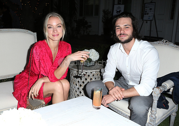 LOS ANGELES, CA - NOVEMBER 4: Rachel Skarsten, Boyfriend Alex, at The 2017 Fluffball Benefiting Forgotten Horses Rescue! at The Lombardi House In Los Angeles, California on November 4, 2017. Credit: Faye Sadou/MediaPunch