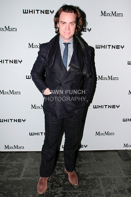 Jay Fielden Editor of Town & Country attends the annual Whitney Art Party hosted by the Whitney Contemporaries, and sponsored by Max Mara, at Skylight at Moynihan Station on May 1, 2013.