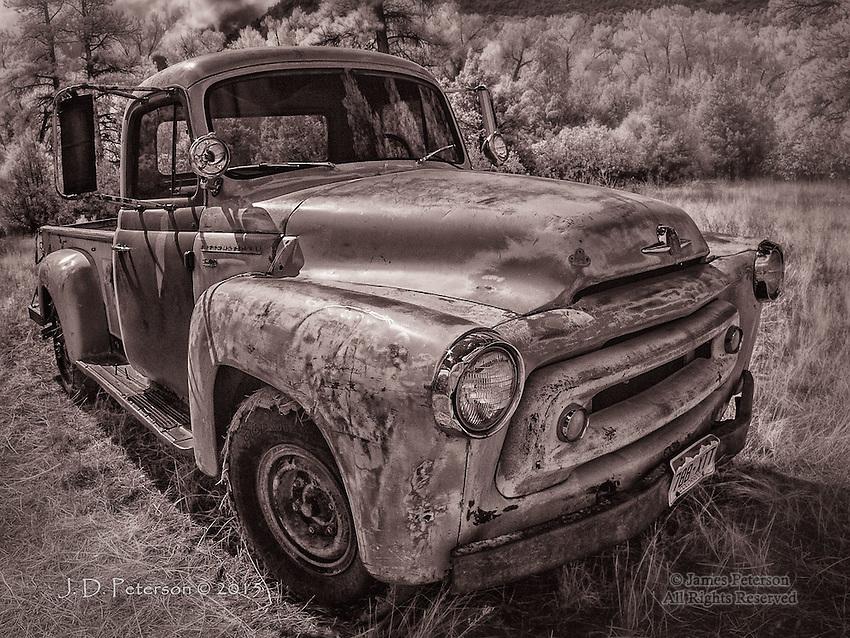 International Truck, near Ridgeway, CO (Infrared)