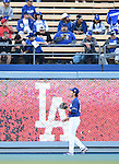 Kenta Maeda (Dodgers),<br /> APRIL 1, 2016 - MLB :<br /> Kenta Maeda of the Los Angeles Dodgers warms up before a spring training baseball game against the Los Angeles Angels at Dodger Stadium in Los Angeles, California, United States. (Photo by AFLO)