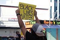 07/06/2020 - PROTESTO CONTRA O RACISMO EM CAMPINAS