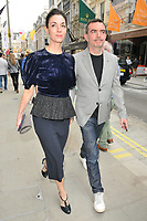 Mary McCartney and Simon Aboud at the Stella McCartney new eco-friendly flagship store opening party, Stella McCartney, Old Bond Street, London, England, UK, on Tuesday 12 June 2018.<br /> CAP/CAN<br /> &copy;CAN/Capital Pictures /MediaPunch ***NORTH AND SOUTH AMERICAS ONLY***