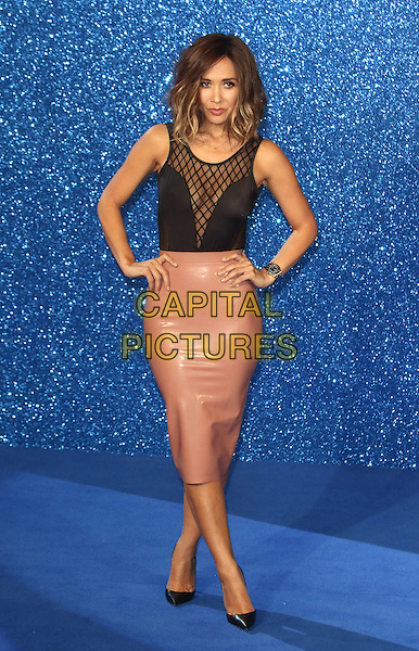 LONDON, ENGLAND - Myleene Klass at the UK Premiere of 'Zoolander 2' at the Empire Leicester Square, London on February 4th 2016<br /> CAP/ROS<br /> &copy;Steve Ross/Capital Pictures