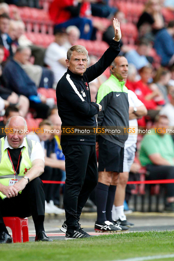 O's manager Andy Hessenthaler during Leyton Orient vs Gillingham, Friendly Match Football at the Matchroom Stadium on 30th July 2016