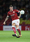 Bristol City's Aden Flint in action during the Carabao cup match at Vicarage Road Stadium, Watford. Picture date 22nd August 2017. Picture credit should read: David Klein/Sportimage