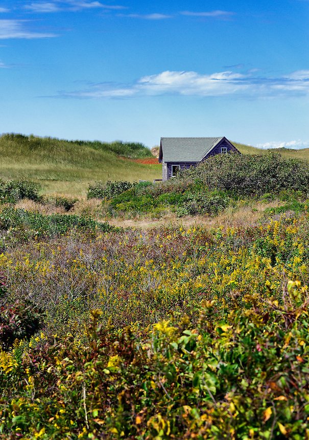 Dune shack, Aquinnah, Martha's Vineyard, Massachusetts, USA