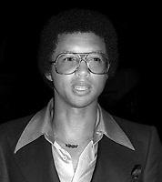 Arthur Ashe 1978<br /> Photo By Adam Scull/PHOTOlink.net