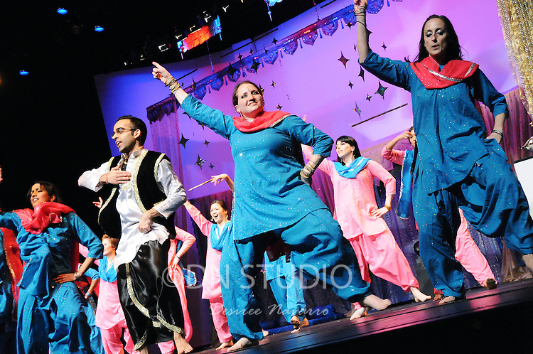 """Bollywood and Bhangra Dance """"Bax to the Future"""" Recital 2010 at Tribeca Performing Arts Center in New York City, NY on Saturday, February 27, 2010."""