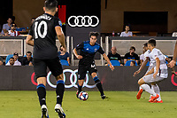 San Jose, CA - Tuesday June 11, 2019: Cade Cowell #44during the US Open Cup match between the San Jose Earthquakes and Sacramento Republic FC at Avaya Stadium.