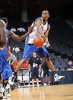 Sheldon McClellan at the NBPA Top100 camp June 19, 2010 at the John Paul Jones Arena in Charlottesville, VA. Visit www.nbpatop100.blogspot.com for more photos. (Photo © Andrew Shurtleff)