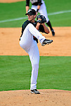 16 March 2009: Florida Marlins' pitcher John Koronka on the mound during a Spring Training game against the Washington Nationals at Roger Dean Stadium in Jupiter, Florida. The Nationals defeated the Marlins 3-1 in the Grapefruit League matchup. Mandatory Photo Credit: Ed Wolfstein Photo