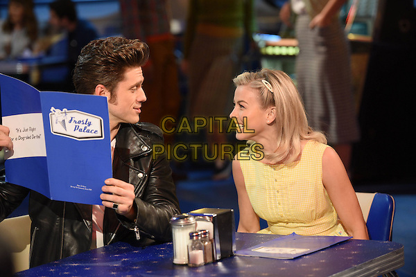 Grease Live! (2016) <br /> Aaron Tveit (Danny Zuko), Julianne Hough (Sandy)<br /> *Filmstill - Editorial Use Only*<br /> FSN-B<br /> Image supplied by FilmStills.net