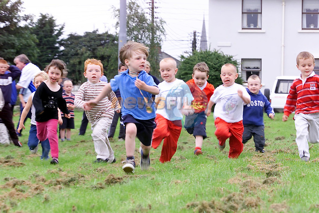 gerard Harding running away with another race at the Sports Day in Yellowbatter.Picture Fran Caffrey Newsfile...This Picture is sent to you by:..Newsfile Ltd.The View, Millmount Abbey, Drogheda, Co Louth, Ireland..Tel: +353419871240.Fax: +353419871260.GSM: +353862500958.ISDN: +353419871010.email: pictures@newsfile.ie.www.newsfile.ie
