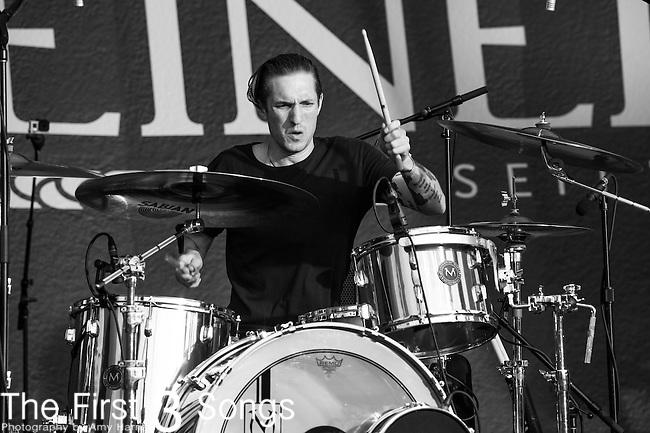 Sean Friday of Dead Sara performs at the 2014 Bunbury Music Festival in Cincinnati, Ohio