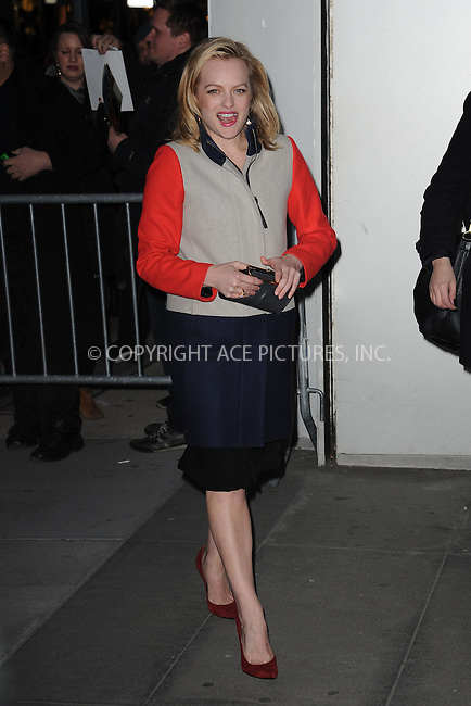 WWW.ACEPIXS.COM<br /> March 22, 2015 New York City<br /> <br /> Elisabeth Moss attending the 'Mad Men' New York Special Screening at The Museum of Modern Art on March 22, 2015 in New York City.<br /> <br /> Please byline: Kristin Callahan/AcePictures<br /> <br /> ACEPIXS.COM<br /> <br /> Tel: (646) 769 0430<br /> e-mail: info@acepixs.com<br /> web: http://www.acepixs.com