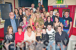 KEY TO THE DOOR: Joanne Coffey, Monavalley, Tralee (seated centre) having a great time celebrating her 21st birthday with a big group of family and friends at Turner bar on Friday.