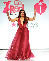 NEW YORK, NY February 08, 2018:Marisa Tomei attend  American Heart Association's® Go Red For Women® Red Dress Collection® 2018 at Hammerstein Ballroom in New York. February 08, 2018. Credit:RW/MediaPunch