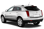 Rear three quarter view of a 2010 Cadillac SRX Performance