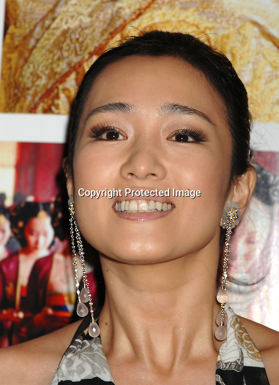 "Gong Li arriving at the Premiere of "" Curse of The Golden Flower"" on November 27, 2006 at Alice Tully Hall...Robin Platzer, Twin Images"